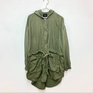 Urban Outfitters BDG Olive Green Utility Jacket